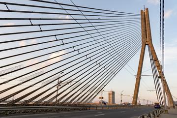 Schrägseilbrücke