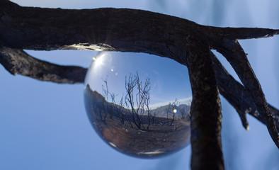 crystal ball photography - Caldera de Tejeda
