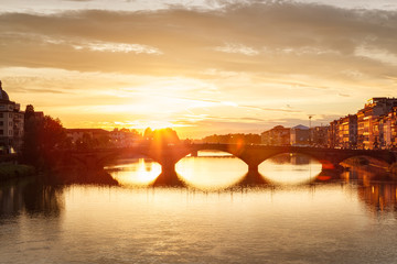 Wall Mural - Florence Sunset Italy