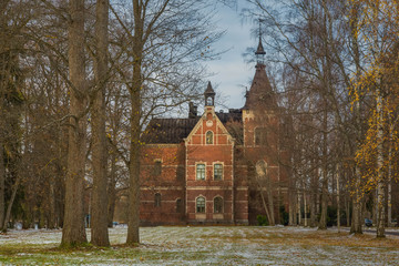 beautiful mansion with a garden in Tampere, Finland