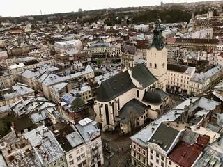 Lemberg von oben (Ukraine)