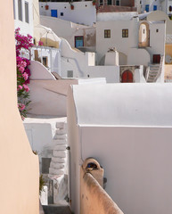 Staircase to multiple layers and homes in Greece
