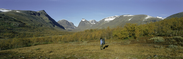 Mount Kebnekaise, Sweden's highest mountain, Laponia, Lappland, Sweden, Scandinavia