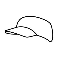 Hat cap isolated icon vector illustration graphic design