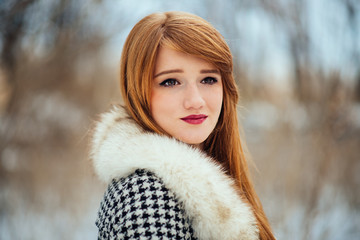 Beautiful Ginger Woman