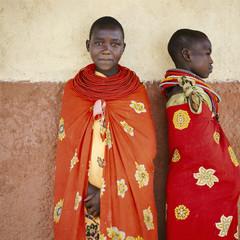 Portrait of tribal people. Kenya.