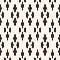 Vector geometric texture with rhombuses. Traditional motif, argyle pattern