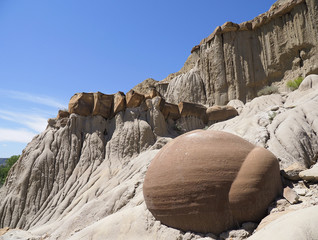 Cannonball Concretions Theodore Roosevelt National Park, North Dakota