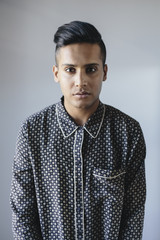 Stylish young Indian man