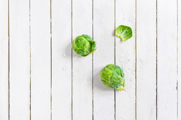 Fresh Organic Brussels Sprouts Study