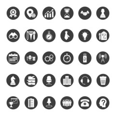 Universal Business And Office Icons
