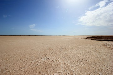 Mer de sel, Tunisie