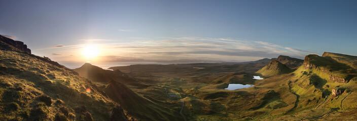 Highlands at sunrise