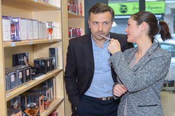 luxury perfume testing