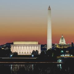 Washington DC During Civil Twilight