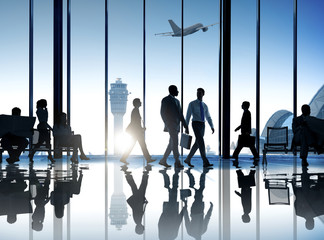 Corporate business travel Wall mural