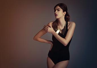 Glamorous Fashion Model