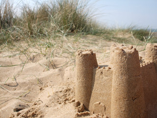 Sandcastle in the Dunes