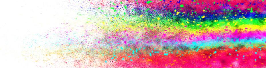 カラフルな粒子