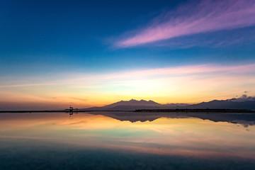 The beauty of sunrise