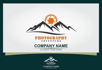 photography adventure logo