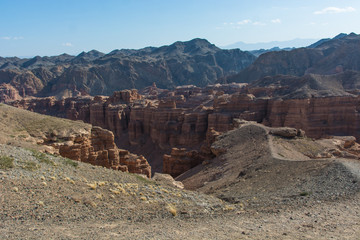 Charyn grand canyon in Kazakhstan