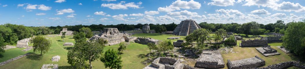 Ruines maya de Mayapan, Yucatán, Mexique