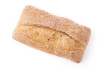fresh bread. ciabatta