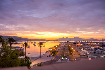 Mallorca, Spanien, Insel, Urlaub, Erholung, Tiere, Pflanzen, Palmen, Reisen, Markt, Früchte, Stand, Meer