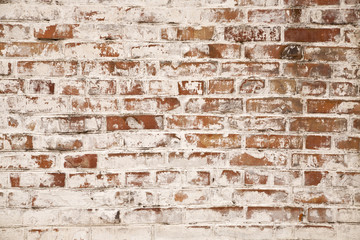 old brick wall texture as background