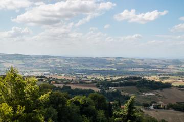 La bellezza delle colline marchigiane