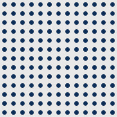 Seamless polka dot pattern. Vector repeating texture.