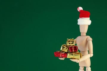 木製マネキン人形/クリスマスプレゼント