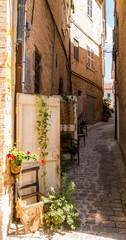 Centro Storico di Recanati, Macerata, Marche, Italia