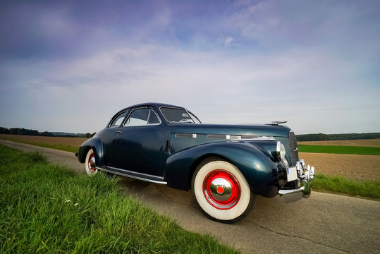 Oldtimer - Rarität, Cadillac Lasalle Coupe , Portrait