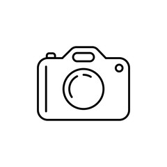 Camera icon. Modern simple flat device sign. Vector illustration.