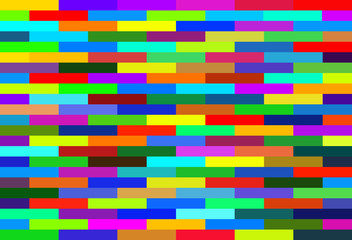 nested rectangles red blue green bright colors background multicolored