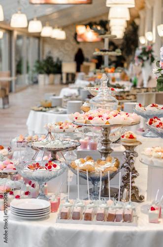 Fabulous Delicious Wedding Reception Candy Bar Dessert Table Full Interior Design Ideas Grebswwsoteloinfo