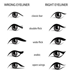 eyeliner set