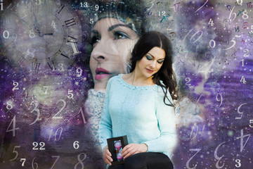 Female soul in the Universe and numerology