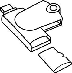 MicroSD Card Reader