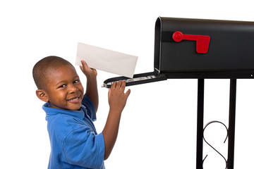 Family: Boy Takes Letter From Mailbox