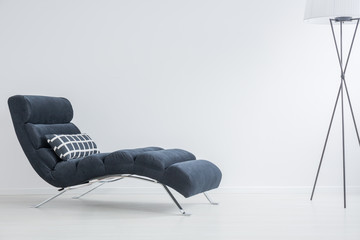 Settee with pillow