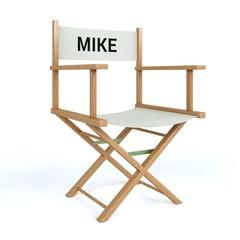 Regiestuhl Mike