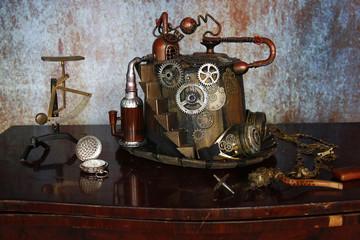 Steampunk distilleria