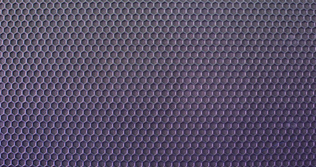 The metal mesh. Background. Texture. Blue tint