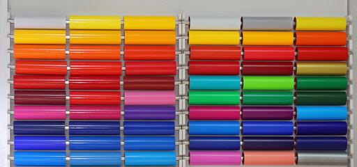 Vinyl Foil Rolls Color