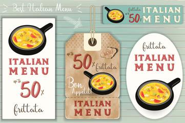 Italian Ravioli Stickers Set