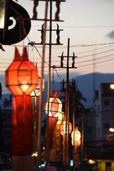 Chiang Mai, Thailand, Lichterfest