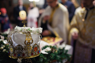 crown in the church